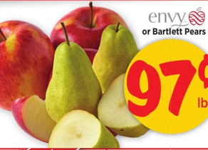 ✅Great stock up price on Apples this week At HEB!  perfect timing for those that Bake!