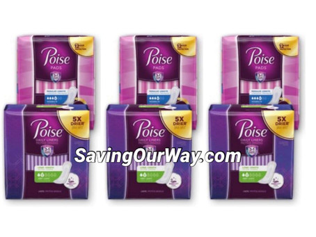 😱53% Savings on Poise Pads l! Details in my post!