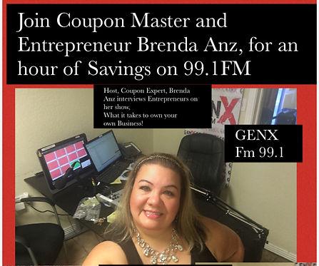 Brenda Anz on GenX 99.1FM