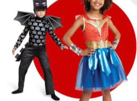 30% Savings on Halloween Costumes & Candy at Target this week! Subscribe to savingourway.com