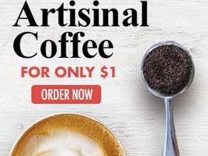 Get a bag of Amora Premium Coffee valued at $14.95 for just $1!