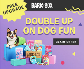 hand-selected dog toys, treats & products delivered to your door each month.