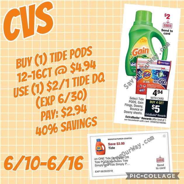 Laundry, Make-up and Photo Savings Oh My, All at CVS! (Exp 6/16)
