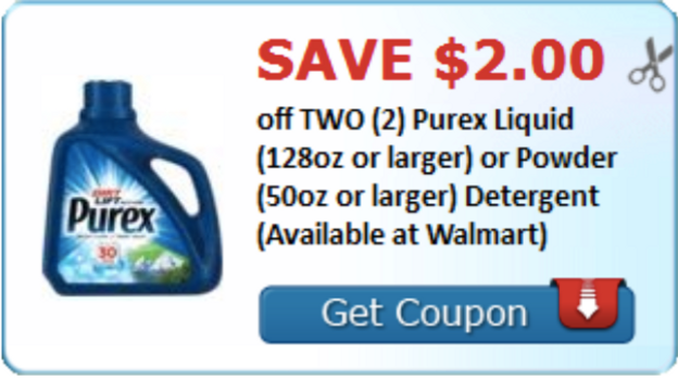 picture about Purex Coupons Printable called ?HOT? Printable Coupon of the Working day, Purex $2 off 2 Liquid