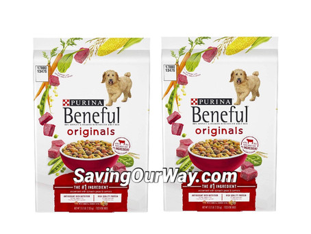 🏃🏻♂️🏃🏻♂️ 64% Percent Savings on Beneful dry dog food! Pay only $2 a Bag!