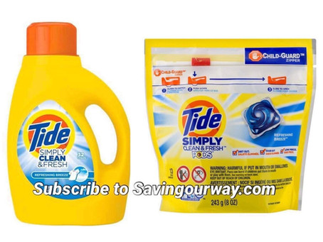 Tide Detergent deal at Dollar General this week!