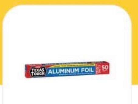 🙌Who needs Free Texas Tough Aluminum Foil? I know I am Grabbing mine😱