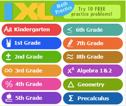 Sign up for a 7 Day FREE Trial of IXL Learning!   Couponing