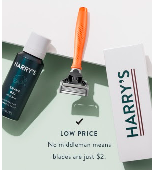 HARRY'S - FREE Trial Razor Set