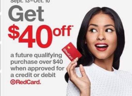 🚨Easy FREE  $40 Gift card from Target this week! 🙌