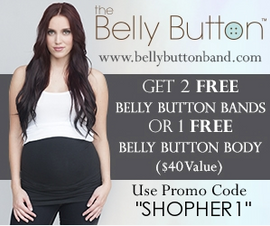 Receive 2 FREE Belly Button Bands or one FREE Belly Button Body.