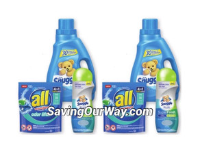 *ALL laundry detergent or Snuggle Softener Deal at Walgreens this week!*