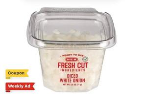 🔥 $0.23 cent HEB Single Serve Diced Onions!