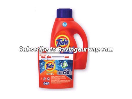 46% Savings on Tide Pods! (You better believe this is the time to stock up!)