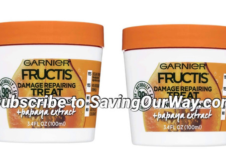 🔇69% off Garnier Fructis Mask! To see more deals subscribe to savingourway.com🏃