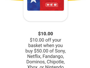 * $10 off your Basket when purchasing $50 in gift cards!  Check out my details🙌*