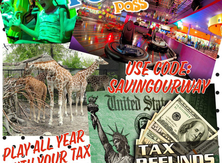 Yearly Tax Refunds are in and Boom! Just like that, it is time to purchase your families Pogo Pass!