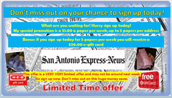 $1 Express Newspaper