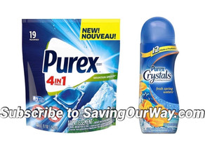 🔇 70% Savings on Purex  Crystals or Pacs! 🙌