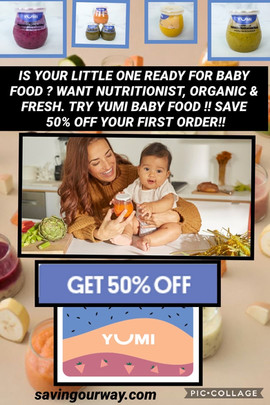 Yumi Baby Food