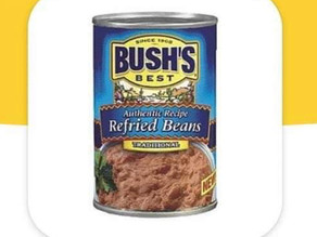 🙌Bogo Bush's Best Refried Beans Making a Stock Deal at HEB!