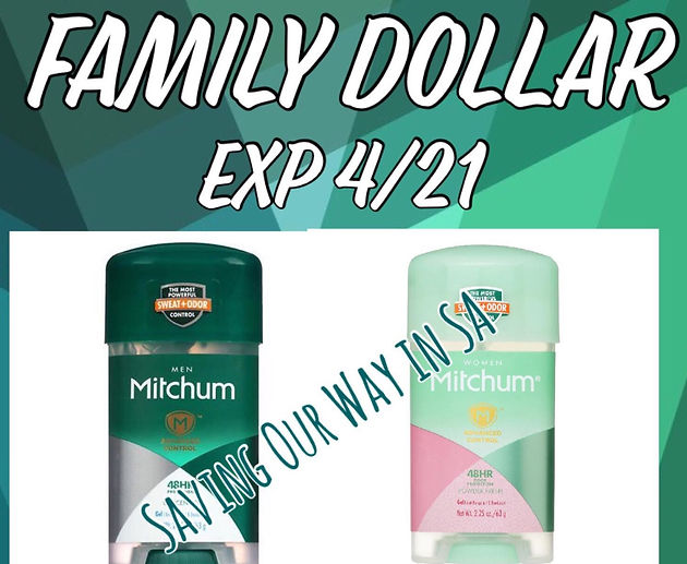 photo about Mitchum Printable Coupon referred to as Mitchum Deodorant accurately $2 @ Household Greenback! Couponing Weblogs