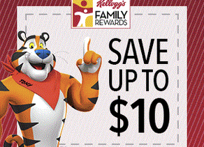 *Click Here* to Sign up for Kelloggs Family REWARDS and Earn points!