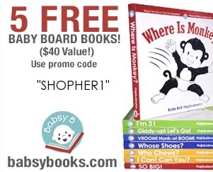 5 Babsy Board Books for FREE