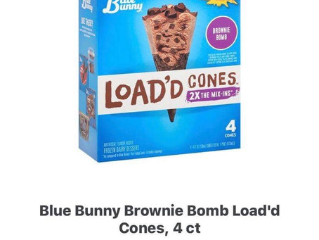 Bunny Load'd Cones any size any varieties Bogo using ibotta! Sign up with my code uscldqn