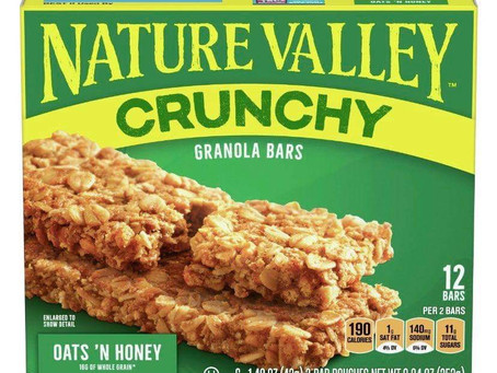 😱42% Saving on Nature valley bars. stock up!