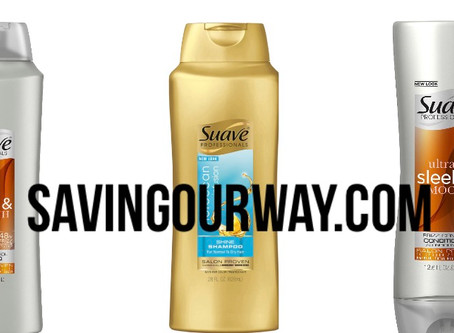 🔇.55 cent Suave shampoo using ibotta! If new to ibotta use my code uscldqn when signing up!