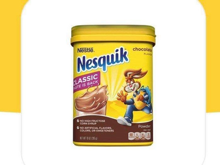 BOGO Nesquik Powder Drink  Mix making this a great deal at HEB!