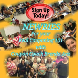 Real Couponing Class with Brenda Anz