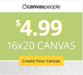 94% OFF your Custom Canvas