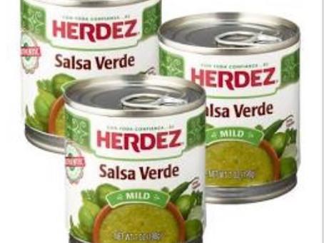 "🔥 -$1.20 Money maker when purchasing 5 Herdez Salsa at HEB! Use Ibotta code ""uscldqn"""