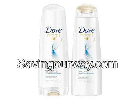 🙌 52% Savings on Dove shampoo/conditioner!