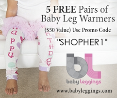 5 pairs of new Babyleggings for only $2.00