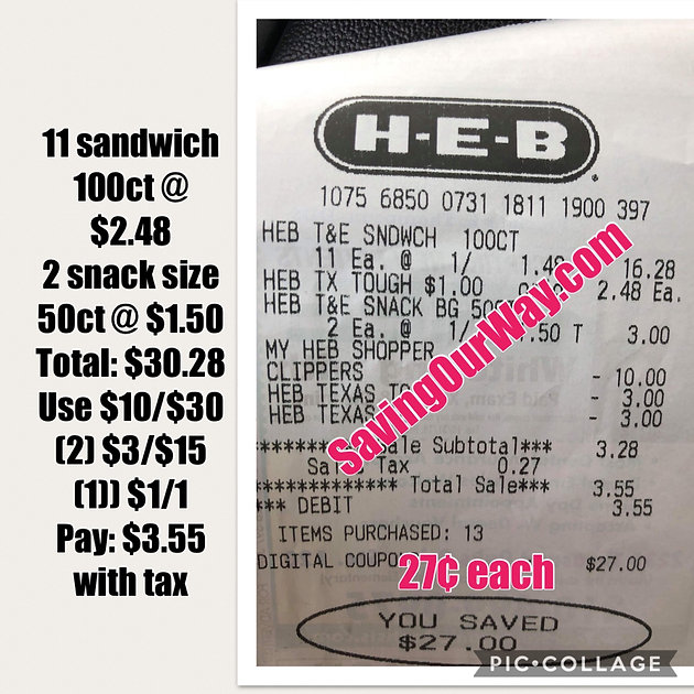 heb coupon $10 off $30 2019