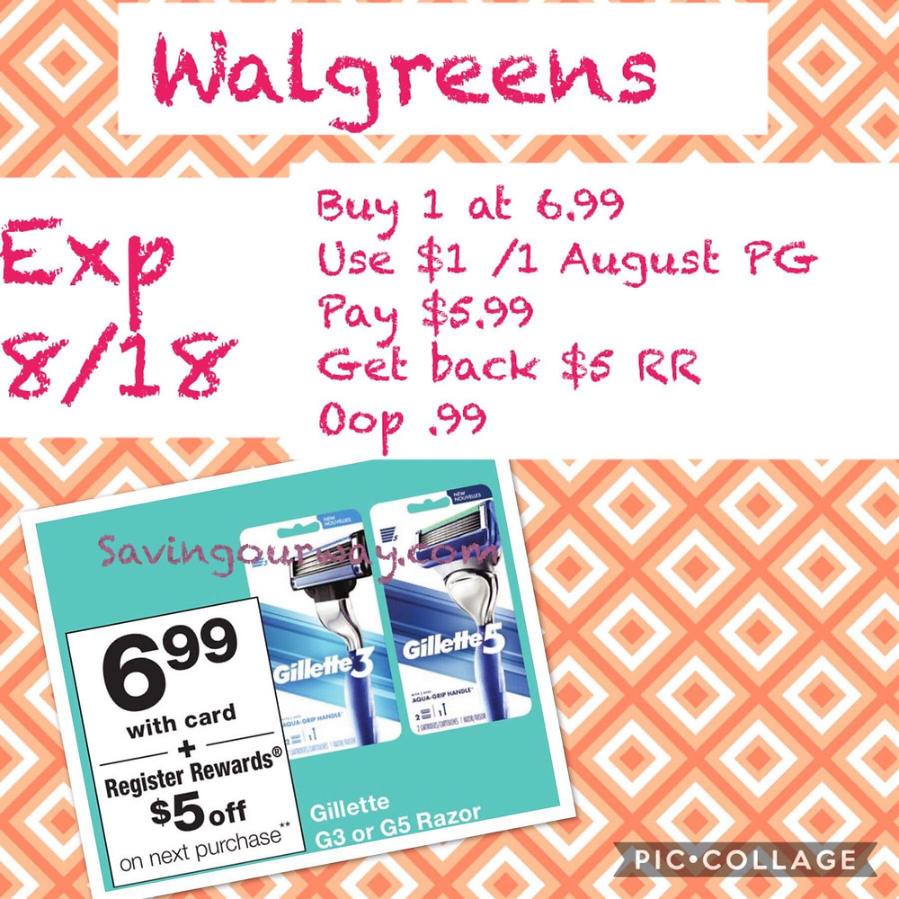 Huge Savings And A Money Maker Deal Walgreens This Week Expires 8 18