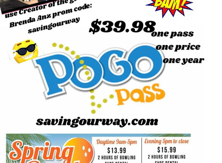 POGO PASS, WHERE EVERYTHING IS BIGGER IN TEXAS! Get 3 cities for the price of ONE! $39.98!