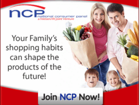Your opinions earns you Rewards! It is Easy to join National Consumer panel and Bank a Gift Card!