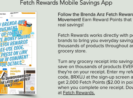 Sign up to make easy free gift cards through Fetch rewards app use my unique code 8RXUJ!