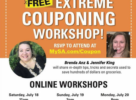 Simple Solution to boost your financial status!Jump into Brenda & Jenn's Money Saving Coupon Class!