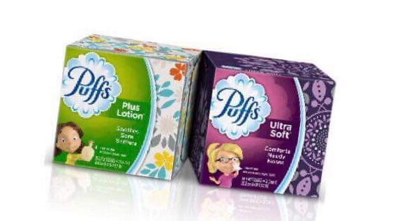 image relating to Puffs Coupons Printable named Simply just .74 cents a box for Puffs Tissue at Walgreens