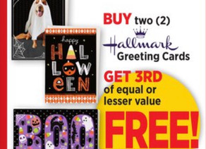 👀Now is the time to buy & send out your Hallmark cards To friends & family! Get 1 free this week�!