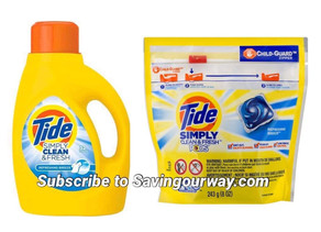 🙌$1.85 for Tide Simply at Dollar General this week!