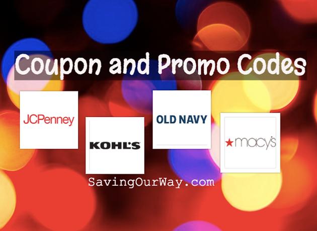 Coupons & Promo Codes on SavingOurWay com!