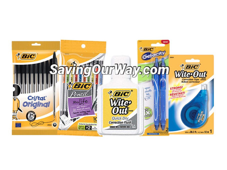 """""""FREE"""" Pens or Wite-out by (using $2 off 2 MFG Coupon! )"""