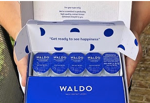 *Click Here* for Details on Getting 10 pairs of contacts for just $2.95 (S&H) and Waldo Contact