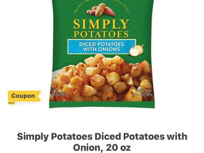 Simply Potatoes 🥔 Diced Potatoes digital deal at HEB!